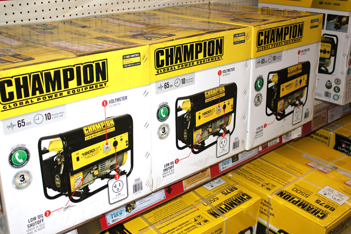 Champion Generator Reviews
